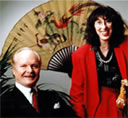 a photo of Yvette Marrin and David Bruce McMahan our co-founders