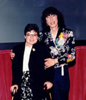 photo of Yvette Marrin and Cristina McMahan